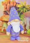 KBP-344 - Wizardy Knitting Pattern Knitted Soft Toy