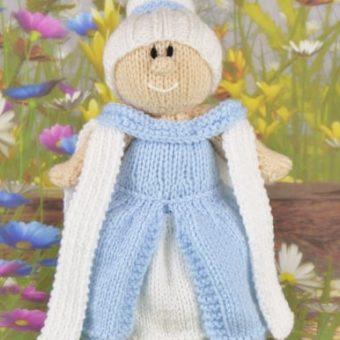 Princess Toy Knitting Pattern