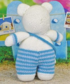 knitted polar bear pattern