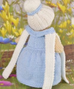 knitted princess back