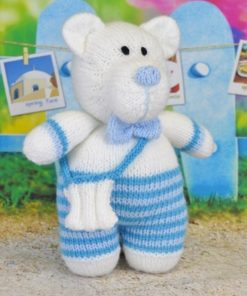 paul the polar bear toy knitting pattern