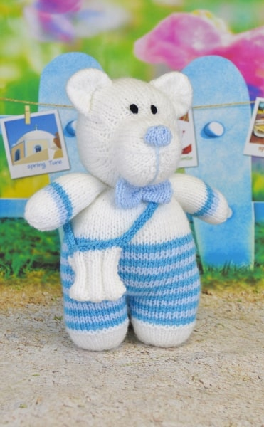 paul the polar bear knitting pattern