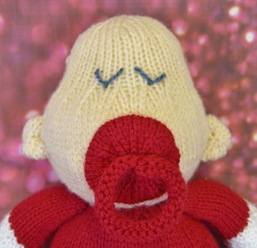 Baby knitting Pattern Christmas