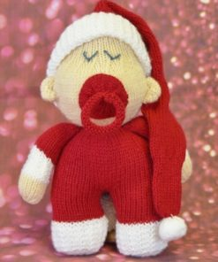 Christmas Baby Knitting Pattern