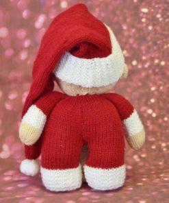 Knitted Santa Baby Back