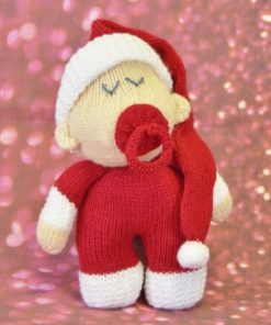 Santa Baby Toy Knitting Pattern