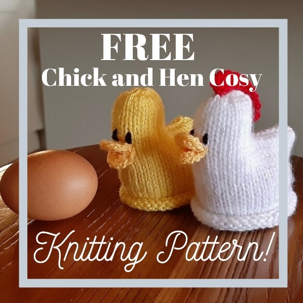 Free Chick and Hen knitting patterns