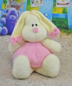 cotton candy bunny rabbit knitting pattern