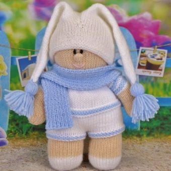 ready for bed twin boy toy knitting pattern