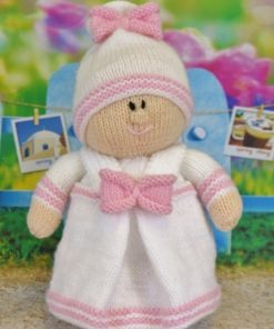 twin doll girl knitting pattern