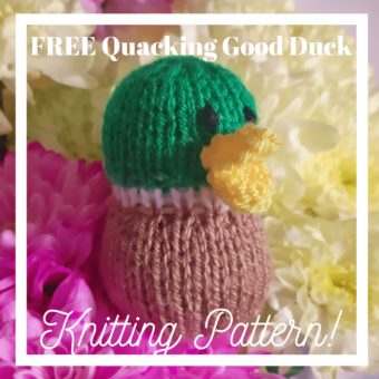 duck soft toy knitting pattern free