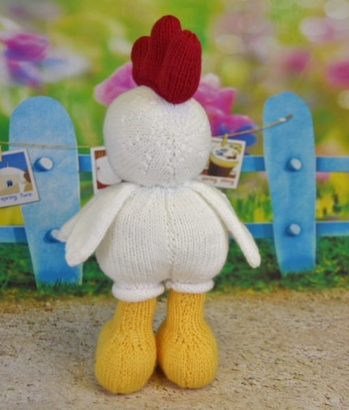 knitted rooster knitting pattern