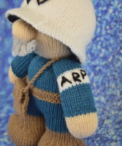knitted world war 2 air raid patrol warden knitting pattern