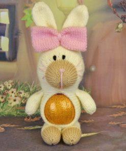 rabbit chocolate orange cover knitting pattern