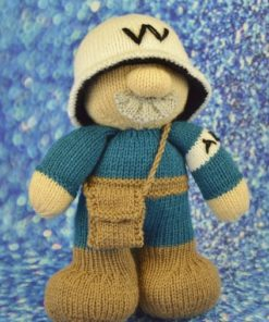world war 2 air raid patrol man knitting pattern