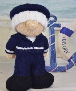 knitted sailor blue uniform world war 2