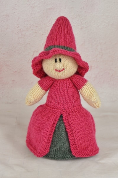 Izzy the Witch Knitting Pattern - Knitting by Post