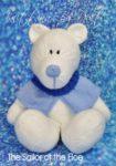 knitted polar bear pattern