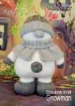 snowman gnome knitting pattern winter white