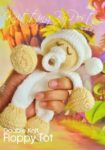 easy baby knitting pattern comforter dolly